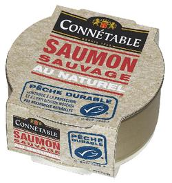 Saumon sauvage au naturel connétable
