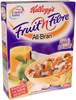 All bran fruits et fibres kellogg