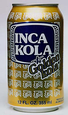 Inca kola (the coca-cola company, usa)