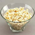 Calories pop-corn