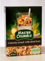 Master crumble - crunchy muesli with dried fruit