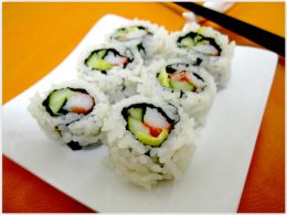 California roll avocat