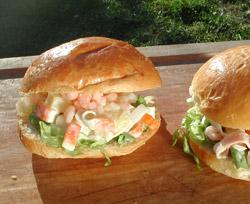 Calculez les calories facilement - Recette sandwich froid baguette ...